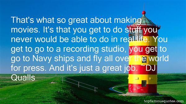 DJ Qualls Quotes