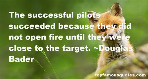 Douglas Bader Quotes