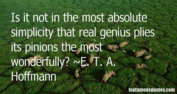 E. T. A. Hoffmann Quotes