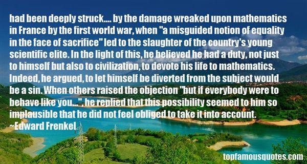 Edward Frenkel Quotes