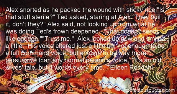 Eileen Rendahl Quotes