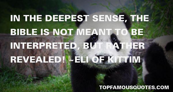 Eli Of Kittim Quotes