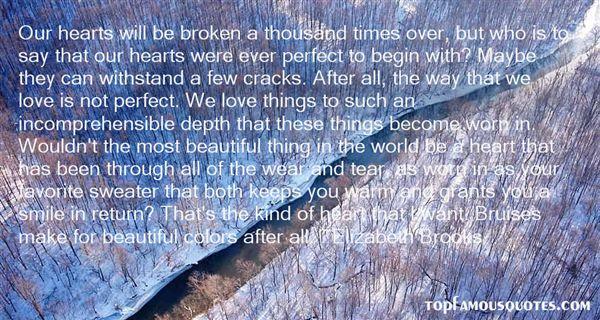 Elizabeth Brooks Quotes