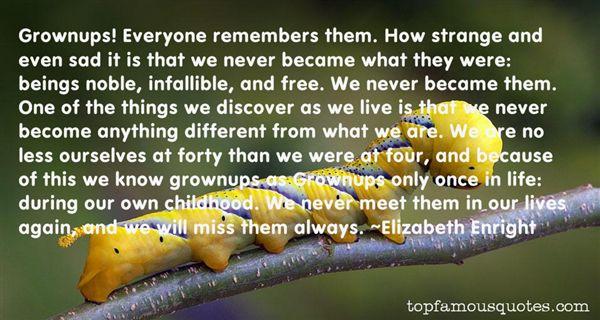 Elizabeth Enright Quotes