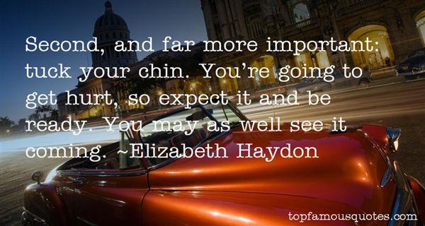 Elizabeth Haydon Quotes