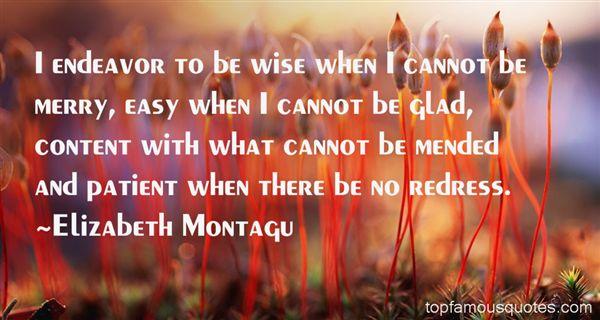 Elizabeth Montagu Quotes