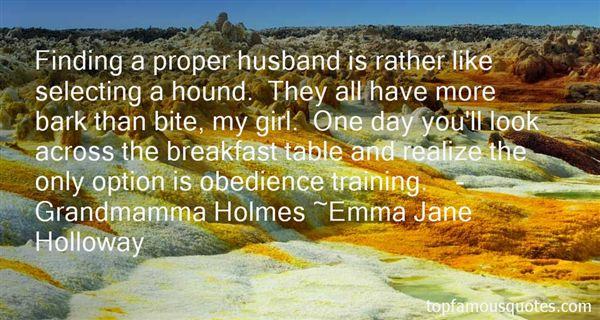 Emma Jane Holloway Quotes