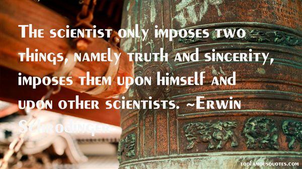 Erwin Schrödinger Quotes
