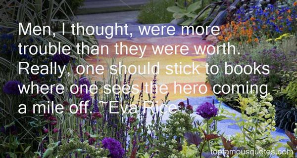Eva Rice Quotes