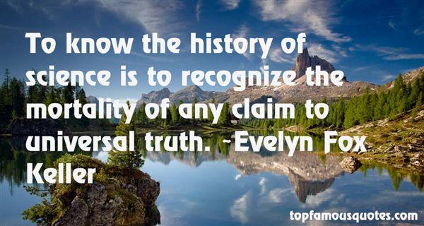 Evelyn Fox Keller Quotes