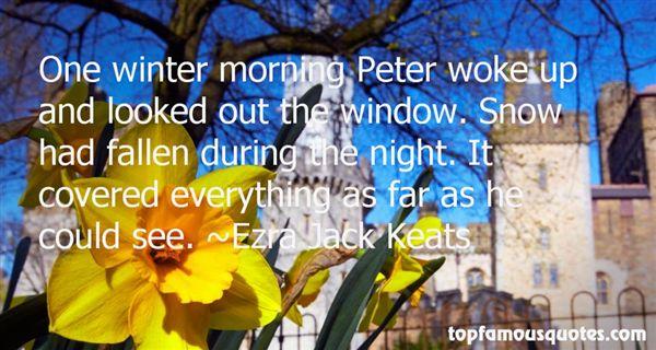 Ezra Jack Keats Quotes