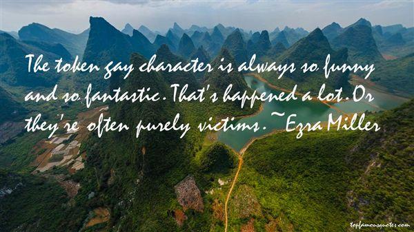 Ezra Miller Quotes