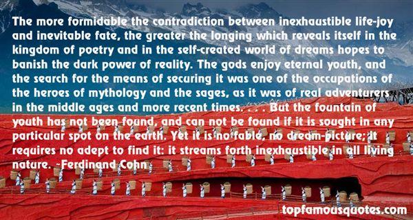 Ferdinand Cohn Quotes