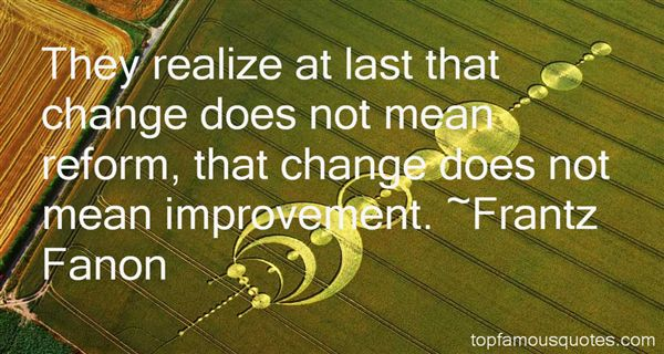 Frantz Fanon Quotes