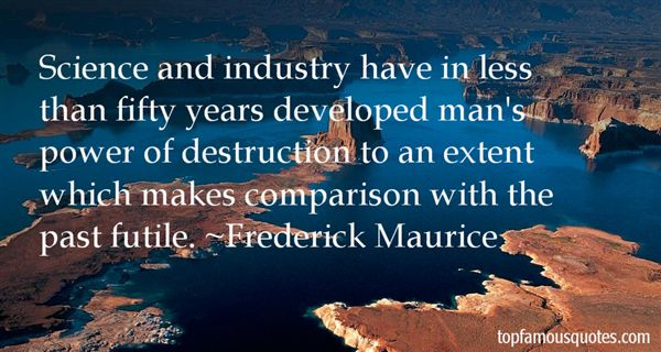Frederick Maurice Quotes