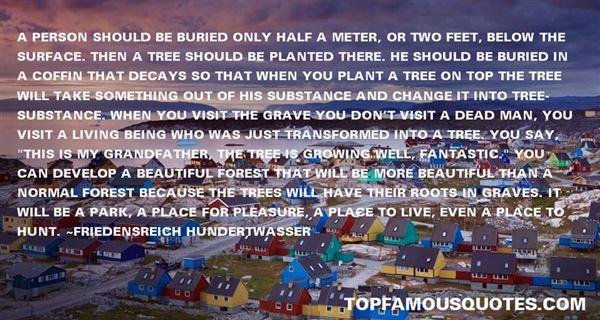Friedensreich Hundertwasser Quotes