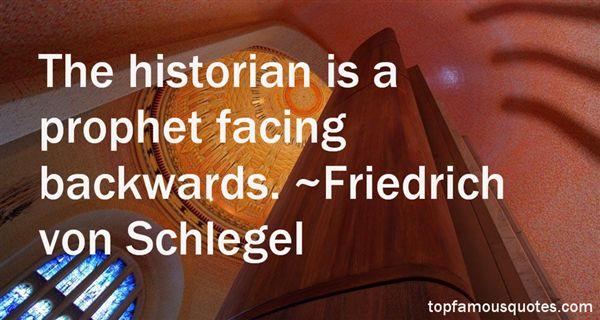 Friedrich Von Schlegel Quotes