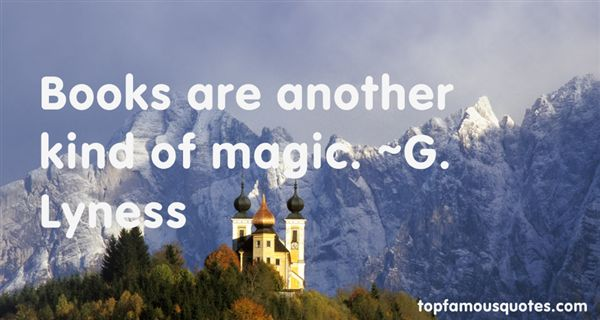 G. Lyness Quotes