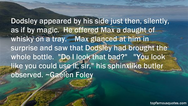 Gaelen Foley Quotes