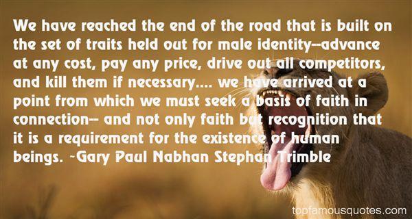 Gary Paul Nabhan Stephan Trimble Quotes