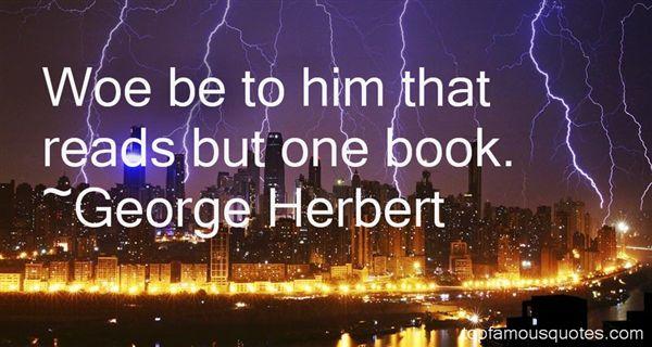 George Herbert Quotes