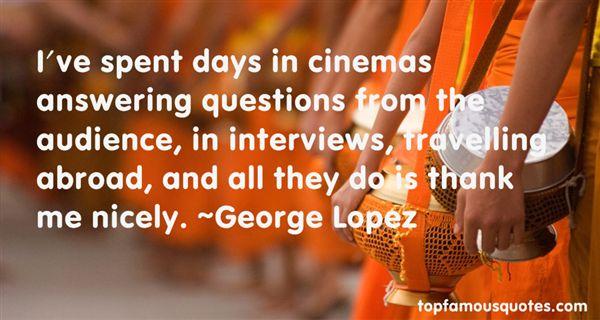 George Lopez Quotes