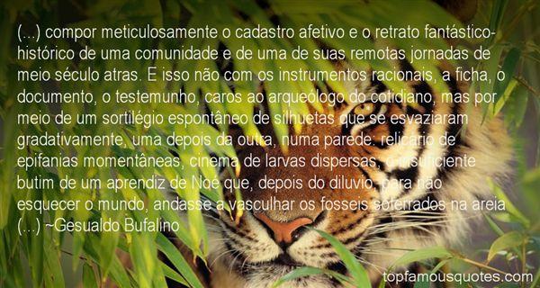 Gesualdo Bufalino Quotes