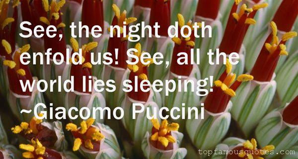 Giacomo Puccini Quotes