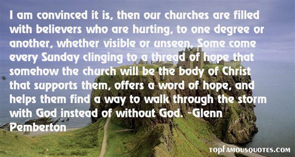 Glenn Pemberton Quotes