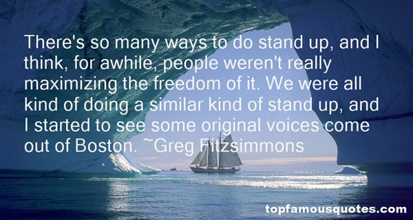Greg Fitzsimmons Quotes