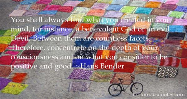 Hans Bender Quotes
