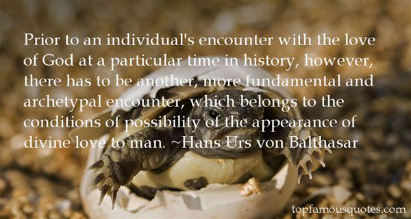 Hans Urs Von Balthasar Quotes