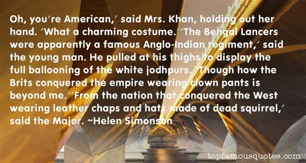 Helen Simonson Quotes