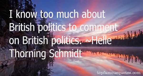 Helle Thorning Schmidt Quotes