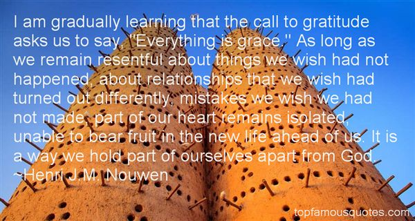 Henri J.M. Nouwen Quotes