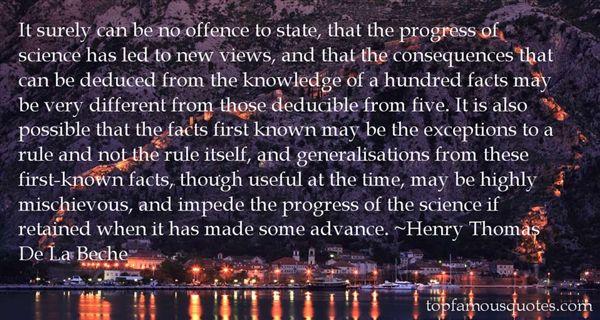 Henry Thomas De La Beche Quotes