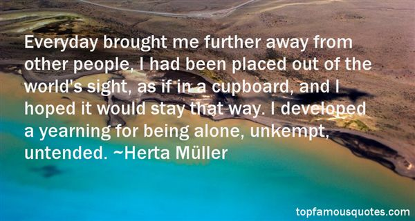 Herta Müller Quotes