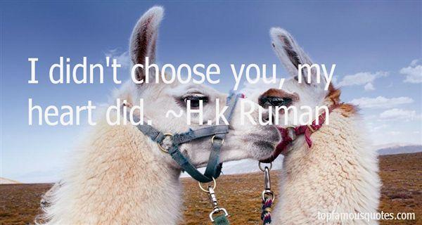 H.k Ruman Quotes