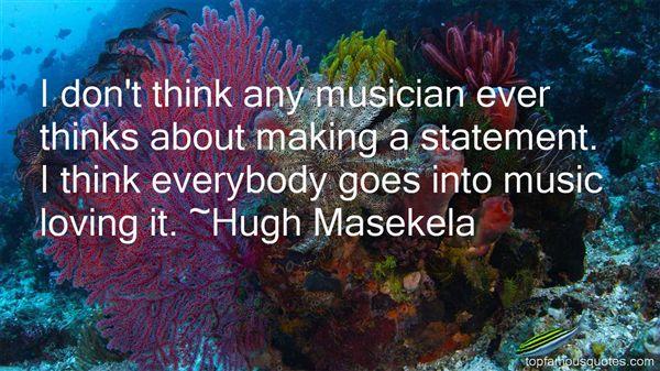 Hugh Masekela Quotes