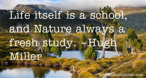 Hugh Miller Quotes