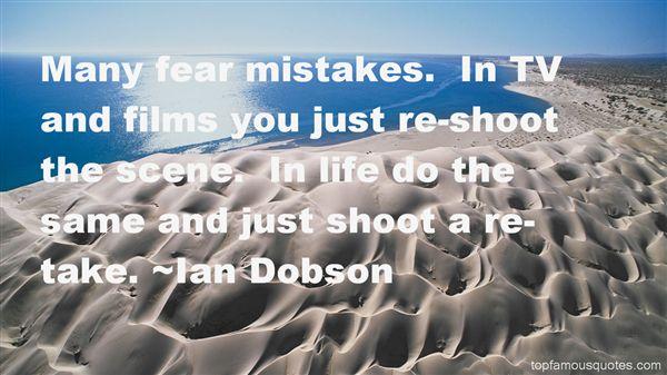 Ian Dobson Quotes