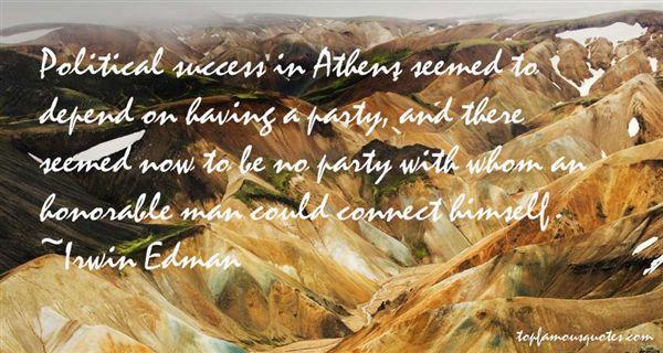 Irwin Edman Quotes