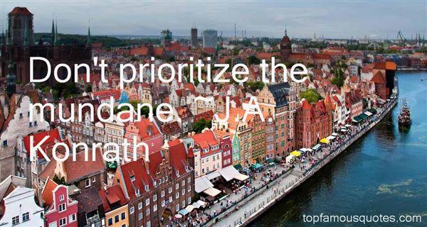 J.A. Konrath Quotes