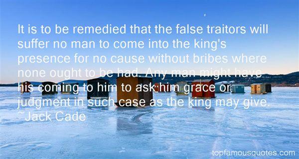 Jack Cade Quotes