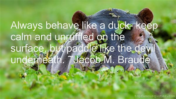 Jacob M. Braude Quotes
