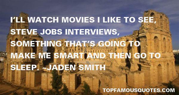 Jaden Smith Quotes