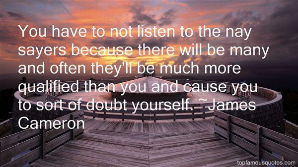 James Cameron Quotes