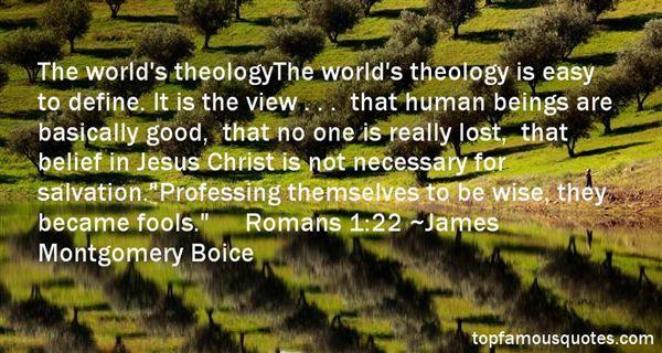 James Montgomery Boice Quotes