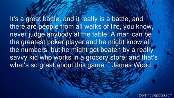 James Wood Quotes