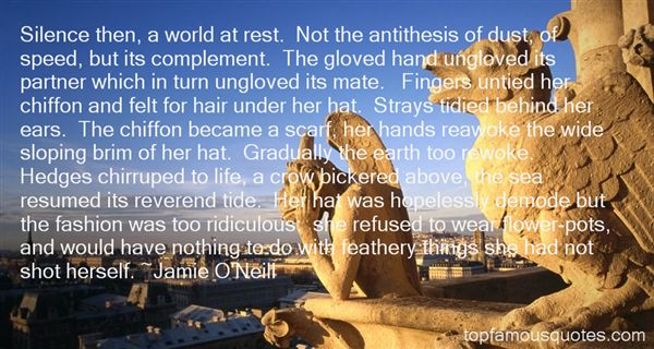 Jamie O'Neill Quotes